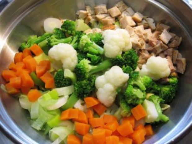 Auflauf mit viel Gemüse ... - Rezept - Bild Nr. 3