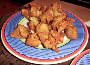 Wan-Tans mit Hühnchen - Rezept