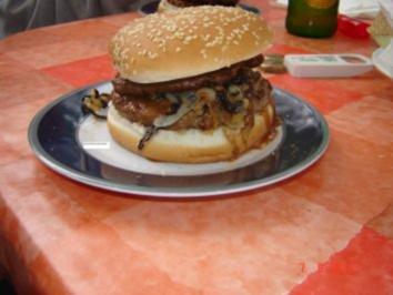 Fleisch : Hamburger - Rezept