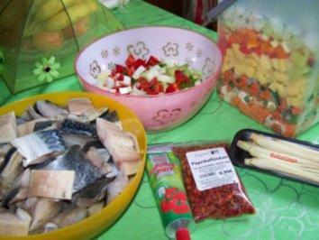 Fischsuppe mit Gemüse - Rezept