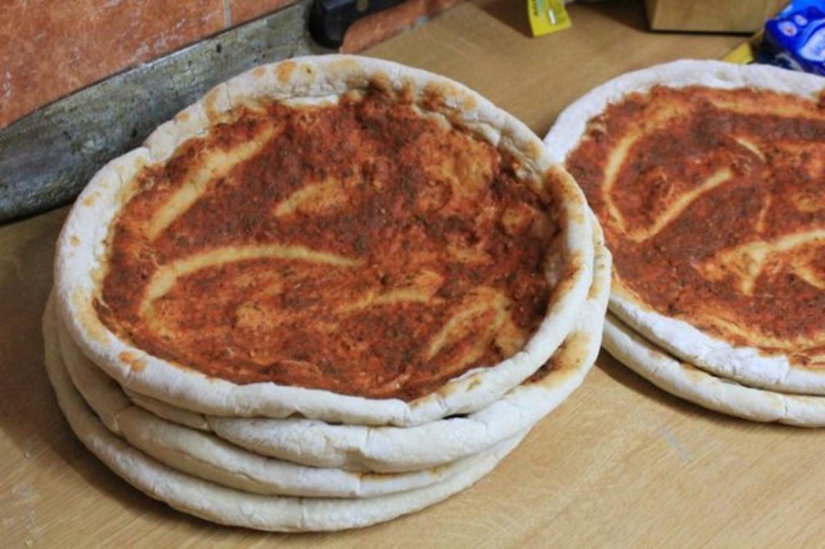 Pizzateig Original Italienisch wie Steinofen - Rezept By Hosenlos
