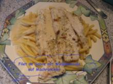 Fisch- Filet de Sabre mit Weißweinsoße - Rezept