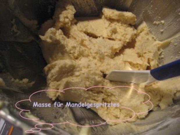 Weihnachtsplätzchen- Mandelgespritztes - Rezept - Bild Nr. 2