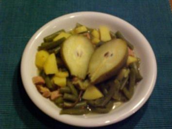 Birnen, Bohnen, Speck - Rezept