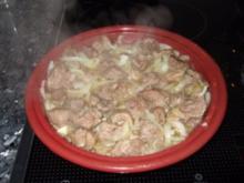 Lamm-Tajine  oder Lammtopf - Rezept