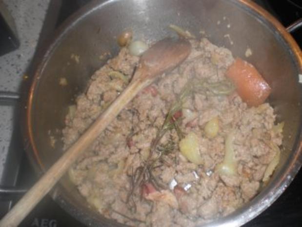 Bohnen-Tomatentopf  mit Hackfleisch - Rezept - Bild Nr. 3