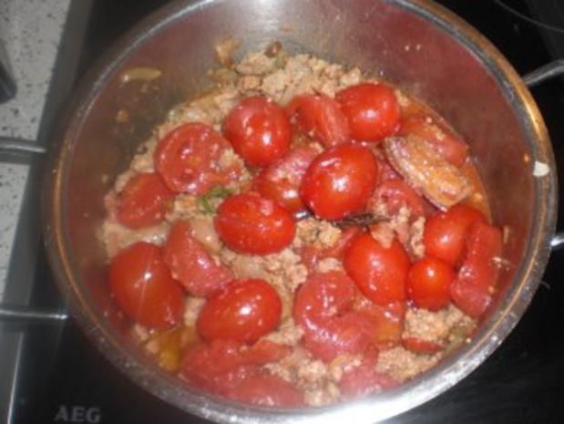 Bohnen-Tomatentopf  mit Hackfleisch - Rezept - Bild Nr. 4