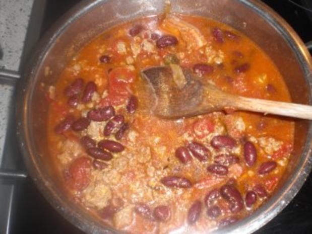 Bohnen-Tomatentopf  mit Hackfleisch - Rezept - Bild Nr. 6