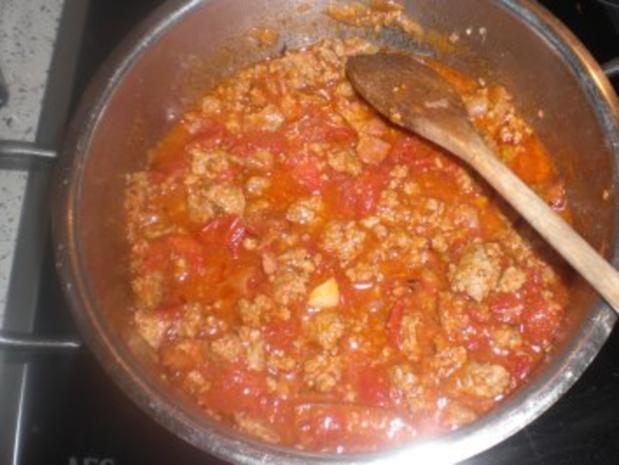 Bohnen-Tomatentopf  mit Hackfleisch - Rezept - Bild Nr. 5