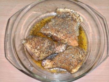 Fleisch: Hähnchen - Cajun - Art - Rezept