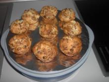 Rosinen - Marzipan - Muffins - Rezept