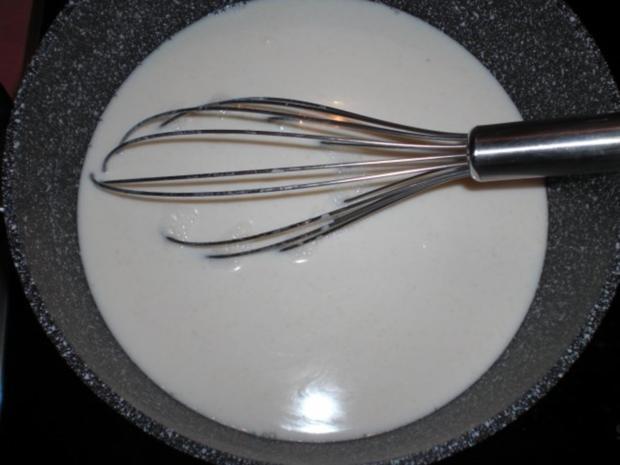 Apfelkuchen mit Marzipanpudding-Guss - Rezept - Bild Nr. 4