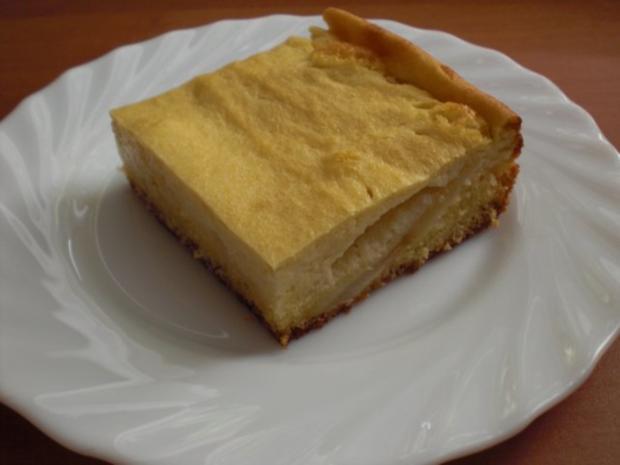 Apfelkuchen mit Marzipanpudding-Guss - Rezept - Bild Nr. 12