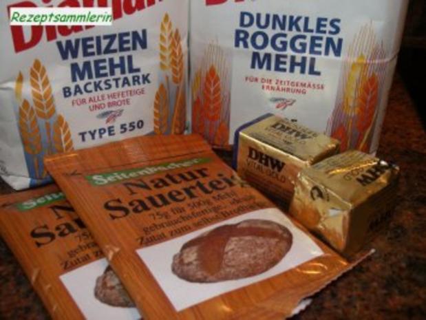 Brot: ROGGEN - WEIZENMISCH - Rezept - Bild Nr. 2