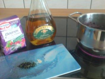 Heidelbeermarmelade - Rezept