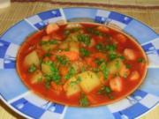 Mein Kartoffel-Eintopf mit Würstchen - Rezept