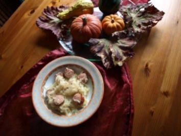 Sauerkraut-Mettwurst-Kartoffeltopf - Rezept