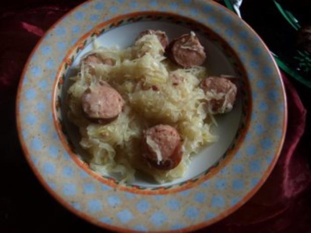 Sauerkraut-Mettwurst-Kartoffeltopf - Rezept - Bild Nr. 8