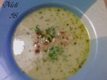 Rezept: Suppen: Mandelsuppe