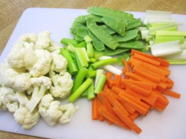 Gemüse aus dem Wok ... - Rezept - Bild Nr. 2