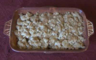 Rezept: Birnen - Crumble