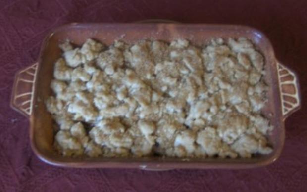 Birnen - Crumble - Rezept
