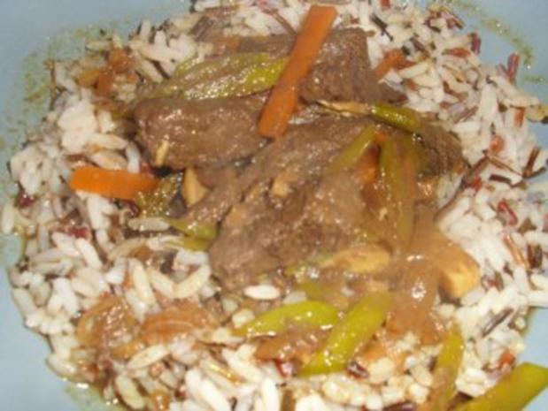 Rindfleisch asiatisch - Rezept