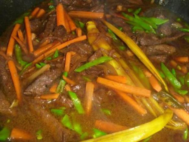 Rindfleisch asiatisch - Rezept - Bild Nr. 6