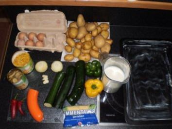 Kartoffel-Zucchini Auflauf - Rezept