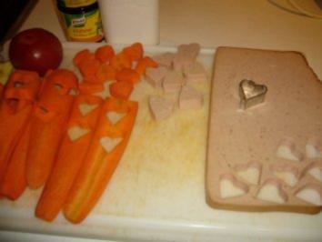 Karotten-Ingwer-Suppe mit Herzchen - Rezept