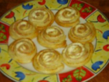 Partyhappen: Käseschnecken - Rezept