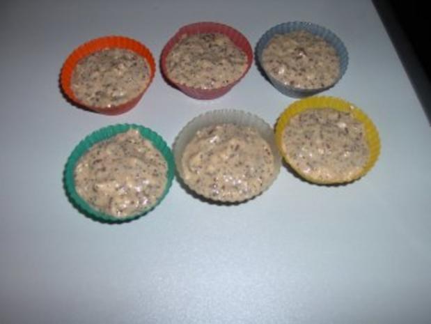 Mohn - Apfel - Muffins - Rezept - Bild Nr. 2
