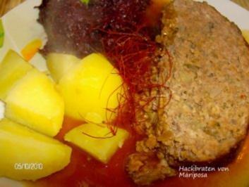 Hackbraten - Rezept