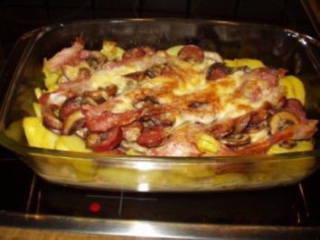 Herbstlicher Kartoffelauflauf - Rezept