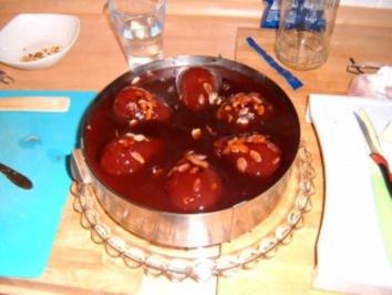 Holunder- Birnen Kuchen - Rezept