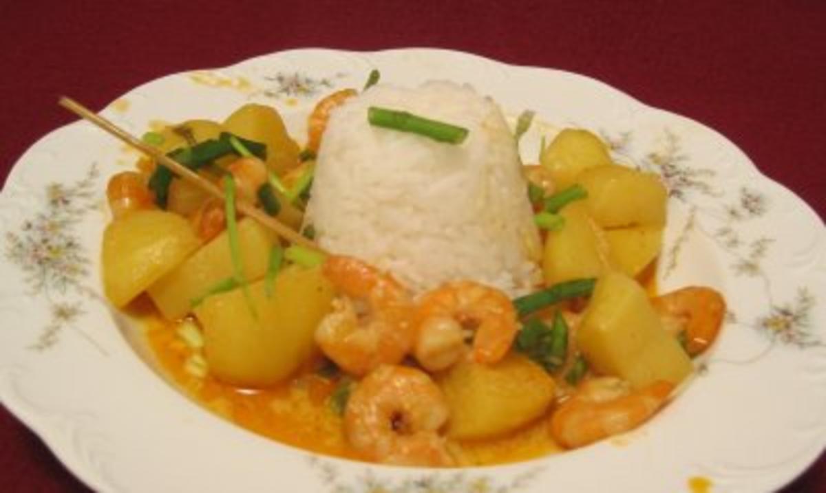 Massaman Curry Rezept