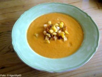 Karotten-Creme-Suppe - Rezept