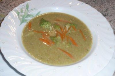 Süppchen: Romanesco - Karottensuppe - Rezept