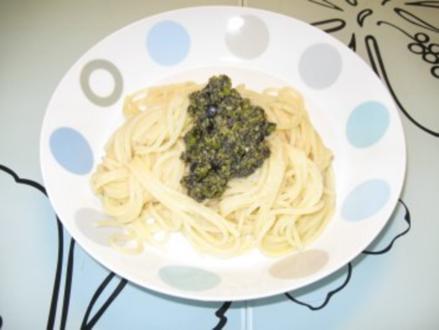 Pistazien - Olivenpesto - Rezept