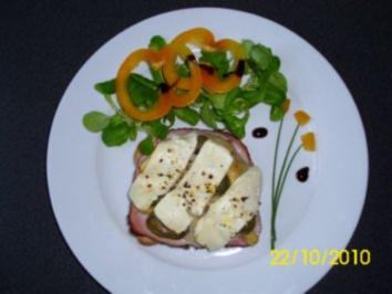 Artischocken-Toast - Rezept