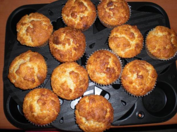 Macadamia-Muffins mit weißer Schokolade - Rezept