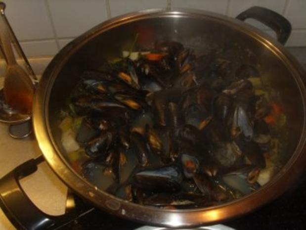 Fischgerichte: Muscheln - Rezept - Bild Nr. 2