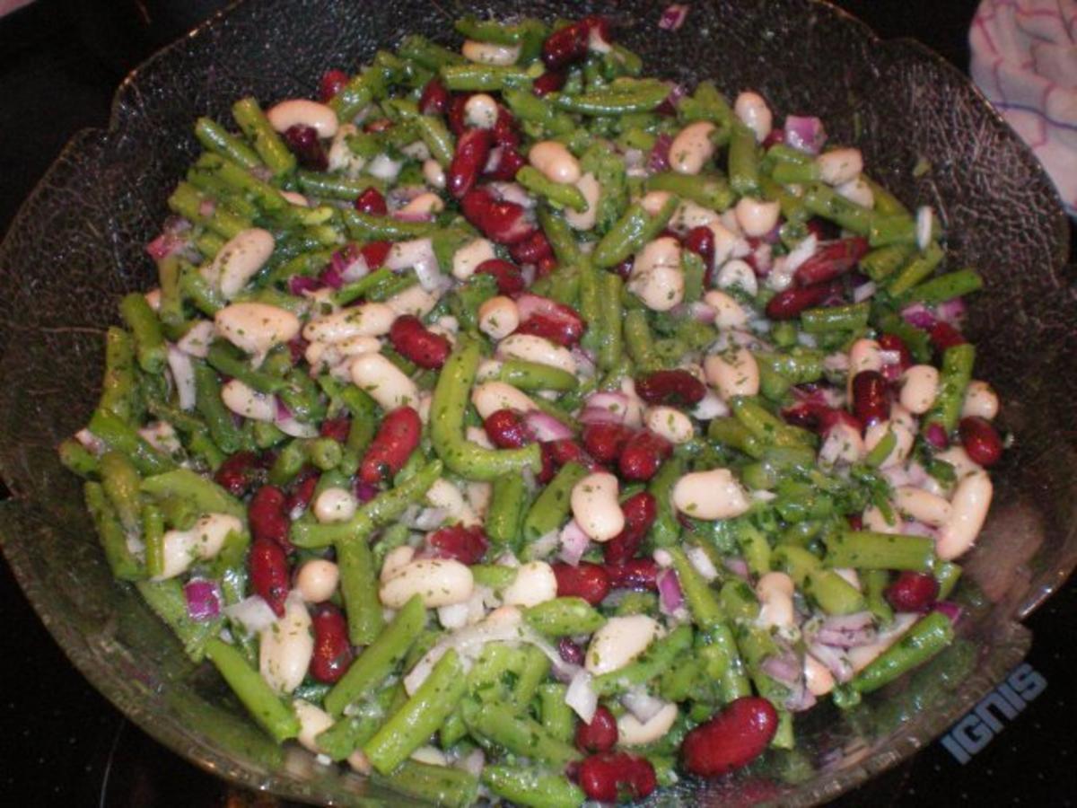 Bilder für Bunter Bohnensalat - Rezept