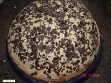 Kuchen + Torten : Meringues-(Baiser) Torte - Rezept