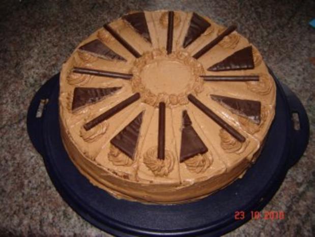 Kuchen + Torten : Pfefferminztorte - Rezept