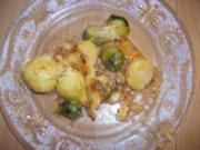 Kartoffelauflauf mit Hack und Käse - Rezept