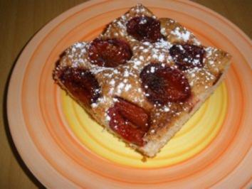 Zwetschkenkuchen - Rezept