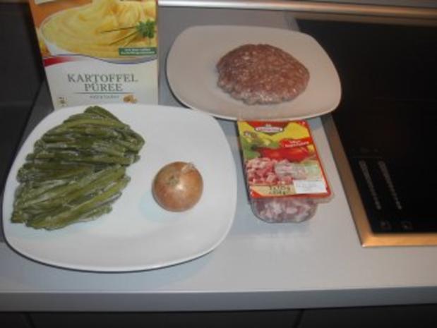 Mettbällchen mit Bohnen - Rezept - Bild Nr. 4