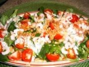 Salat mit Eismeergarnelen und Joghurtdressing - Rezept