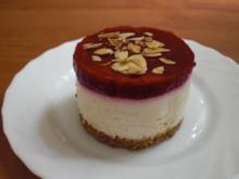 Cantuccini-Quark-Himbeer-Törtchen - Rezept